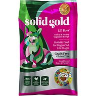 Solid Gold Lil' Boss Turkey & Hearty Vegetable Recipe Grain-Free Dry Dog Food, 12-lb bag