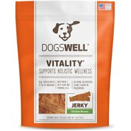 Dogswell Vitality Chicken Breast Jerky Dog Treats, 4-oz bag