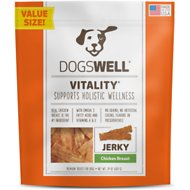 Dogswell Vitality Chicken Breast Jerky Dog Treats, 24-oz bag