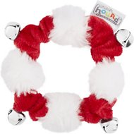 Outward Hound Holiday Pet Collar with Bells, Small