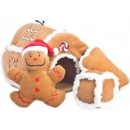 Outward Hound Holiday Gingerbread House Puzzle Dog Toy
