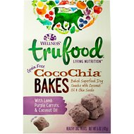 Wellness TruFood CocoChia Bakes with Lamb, Purple Carrots & Coconut Oil Grain-Free Dog Treats, 5-oz bag