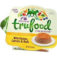 Wellness TruFood Tasty Pairings with Chicken, Carrots & Duck Grain-Free Dog Food Trays, 5-oz, case of 24