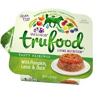 Wellness TruFood Tasty Pairings with Pumpkin, Lamb & Duck Grain-Free Dog Food Trays, 5-oz, case of 24