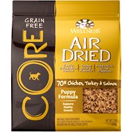 Wellness CORE Air Dried Natural Grain-Free Puppy Recipe Dry Dog Food, 2-lb bag