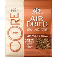 Wellness CORE Air Dried Natural Grain-Free Original Recipe Dry Cat Food, 2-lb bag