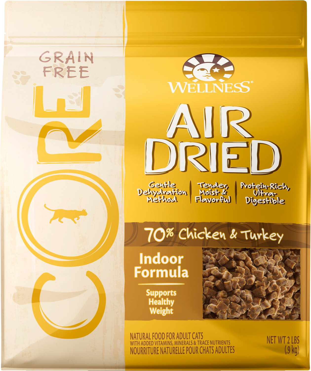 Wellness Core Air Dried Natural Grain Free Indoor Recipe Dry Cat