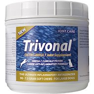 Tersus Trivonal Large Breed Osteo-Mega 7 Joint Care Soft Chew Supplement for Dogs, 90-count