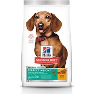 Hill's Science Diet Adult Small & Toy Breed Perfect Weight Dry Dog Food, 15-lb bag