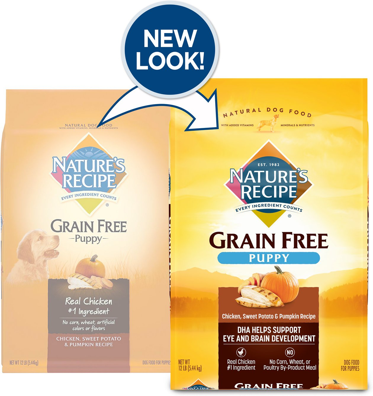 Nature S Recipe Grain Free Chicken And Sweet Potato Calories