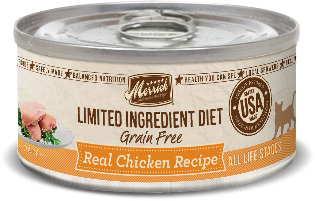 Merrick Limited Ingredient Diet Real Chicken Recipe Canned Cat Food