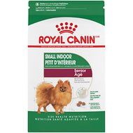 Royal Canin Indoor Life Small Breed Senior Dry Dog Food, 2.5-lb bag