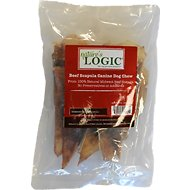 Nature's Logic Beef Scapula Dog Treats, 1-lb bag