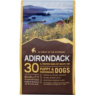 Adirondack 30% High-Fat Puppy & Performance Recipe Dry Dog Food, 30-lb bag