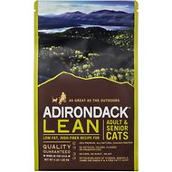 Adirondack Lean Adult & Senior Recipe Dry Cat Food, 4-lb bag