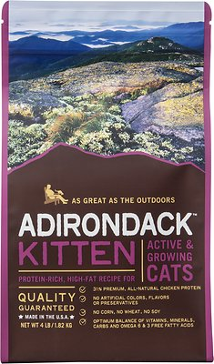 Adirondack Kitten Protein Rich High Fat For Active