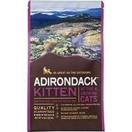 Adirondack Kitten Protein-Rich, High-Fat for Active & Growing Cats Recipe Dry Cat Food, 4-lb bag