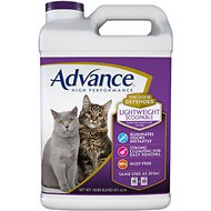 Advance High Performance Lightweight Scoopable Scented Multi-Cat Litter, 15-lb jug