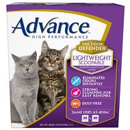 Advance High Performance Lightweight Scoopable Scented Multi-Cat Litter, 30-lb box