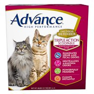Advance High Performance Triple Action Scoopable Scented Multi-Cat Litter, 28-lb box