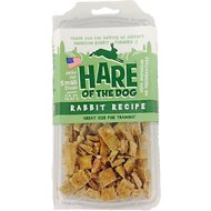 Hare of the Dog Small Dog 100% Rabbit Jerky Dog Treats, 2.5-oz pack