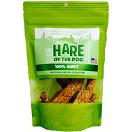 Hare of the Dog 100% Rabbit Jerky Dog Treats, 2.5-oz bag
