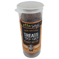 Etta Says! 100% Natural Treats To Go! Peanut Butter Dog Treats, 1.3-oz vial
