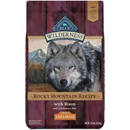 Blue Buffalo Wilderness Rocky Mountain Recipe with Bison Adult Large Breed Grain-Free Dry Dog Food, 22-lb bag