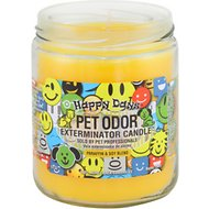 Pet Odor Exterminator Happy Days Deodorizing Candle, 13-oz jar