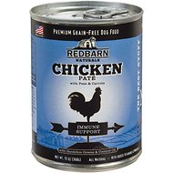 Redbarn Naturals Chicken Pate Immune Support Grain-Free Canned Dog Food, 13-oz, case of 12