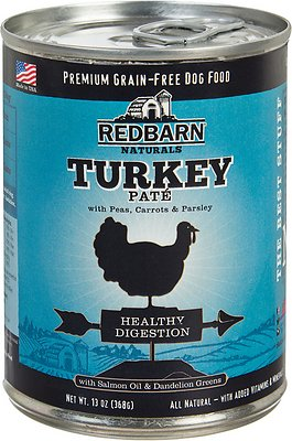 9. Redbarn Naturals Turkey Pate Healthy Digestion Grain-Free Canned Dog Food