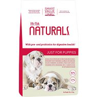 Hi-Tek Naturals Just for Puppies Dry Dog Food, 4-lb bag