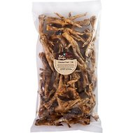Pet 'n Shape Chicken Feet Dog Treats, 1-lb tub