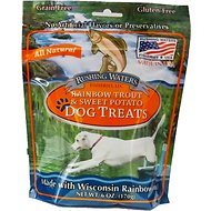Sam's Yams Rushing Waters Rainbow Trout & Sweet Potato Dog Treats, 6-oz bag