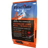 FirstMate Australian Lamb Meal Formula Limited Ingredient Diet Grain-Free Dry Dog Food, 28.6-lb bag