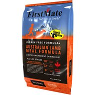 FirstMate Small Bites Australian Lamb Meal Formula Limited Ingredient Diet Grain-Free Dry Dog Food, 5-lb bag