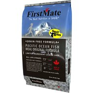 FirstMate Small Bites Pacific Ocean Fish Meal Original Formula Limited Ingredient Diet Grain-Free Dry Dog Food, 14.5-lb bag
