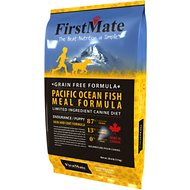 FirstMate Endurance/Puppy Pacific Ocean Fish Meal Formula Limited Ingredient Diet Grain-Free Dry Dog Food, 28.6-lb bag