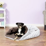 P.L.A.Y. Pet Lifestyle and You Snuggle Bed, Husky Gray, X-Large