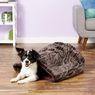 P.L.A.Y. Pet Lifestyle and You Snuggle Bed, Truffle Brown, Large