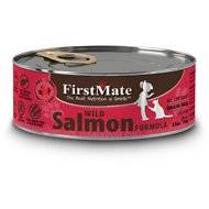 FirstMate Salmon Formula Limited Ingredient Grain-Free Canned Cat Food, 5.5-oz, case of 24