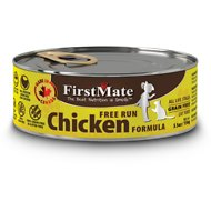 FirstMate Chicken Formula Limited Ingredient Grain-Free Canned Cat Food, 5.5-oz, case of 24