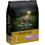 Purina Pro Plan Natural Plus Essential Vitamins & Minerals Lamb & Egg Formula Dry Dog Food, 24-lb bag