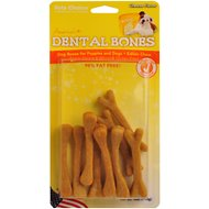 Health Extension Cheese Dental Bone Dog Treats, Small, 9-pack