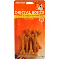 Health Extension Carrot Dental Bones Dog Treats, Small, 9-pack