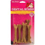 Health Extension Liver Dental Bones Dog Treats, Small, 9-pack