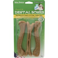 Health Extension Probiotic Yogurt Dental Bones Dog Treats, Large, 3-pack