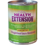 Health Extension Vegetarian Entree Canned Dog Food, 13.2-oz, case of 12
