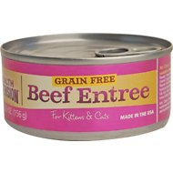 Health Extension Beef Entree Canned Cat & Kitten Food, 5.5-oz, case of 24