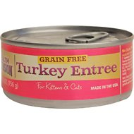 Health Extension Turkey Entree Canned Cat & Kitten Food, 5.5-oz, case of 24